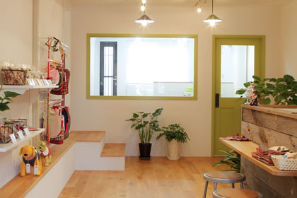Dog Salon Beate店内